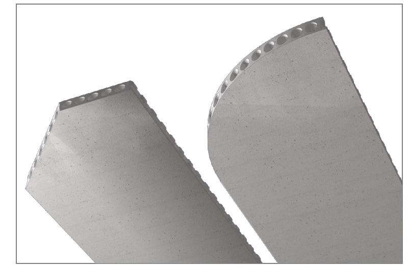 dowolny kształt płyty stropowej